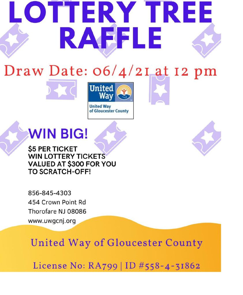 Take a Chance with our Lottery Tree and Support UWGC!